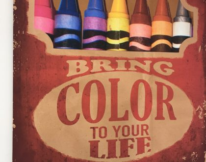 Bring Color to Your Life