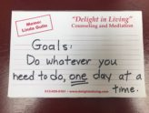 The Secret of Accomplishing Goals